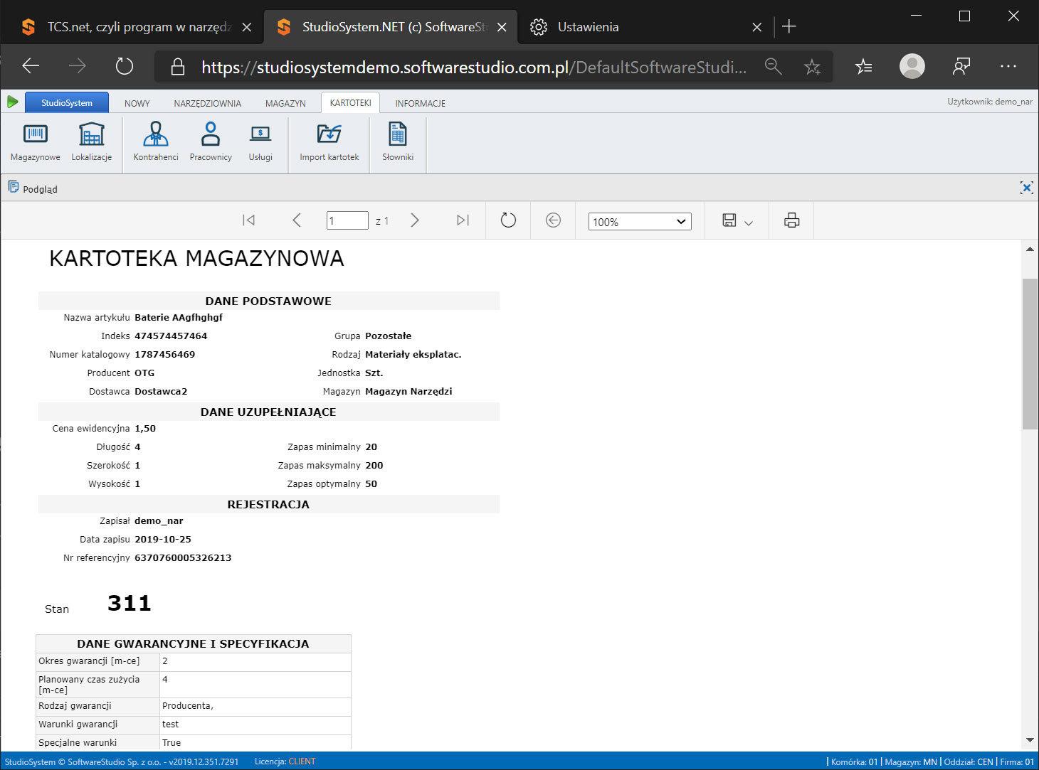 legalizacja-narzędzi System do zarządzania narzędziami