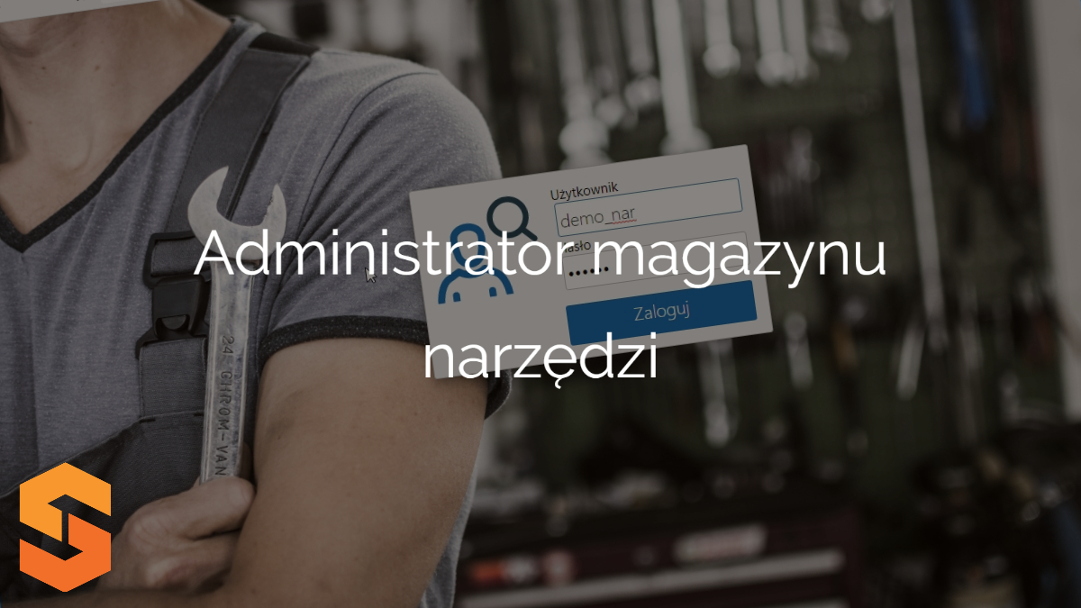 ewidencja narzędzi pomiarowych,administrator magazynu narzędzi