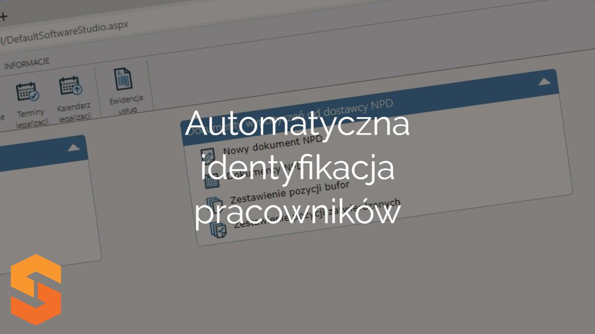 Automatyczna identyfikacja pracowników Oprogramowanie dla wypożyczalni