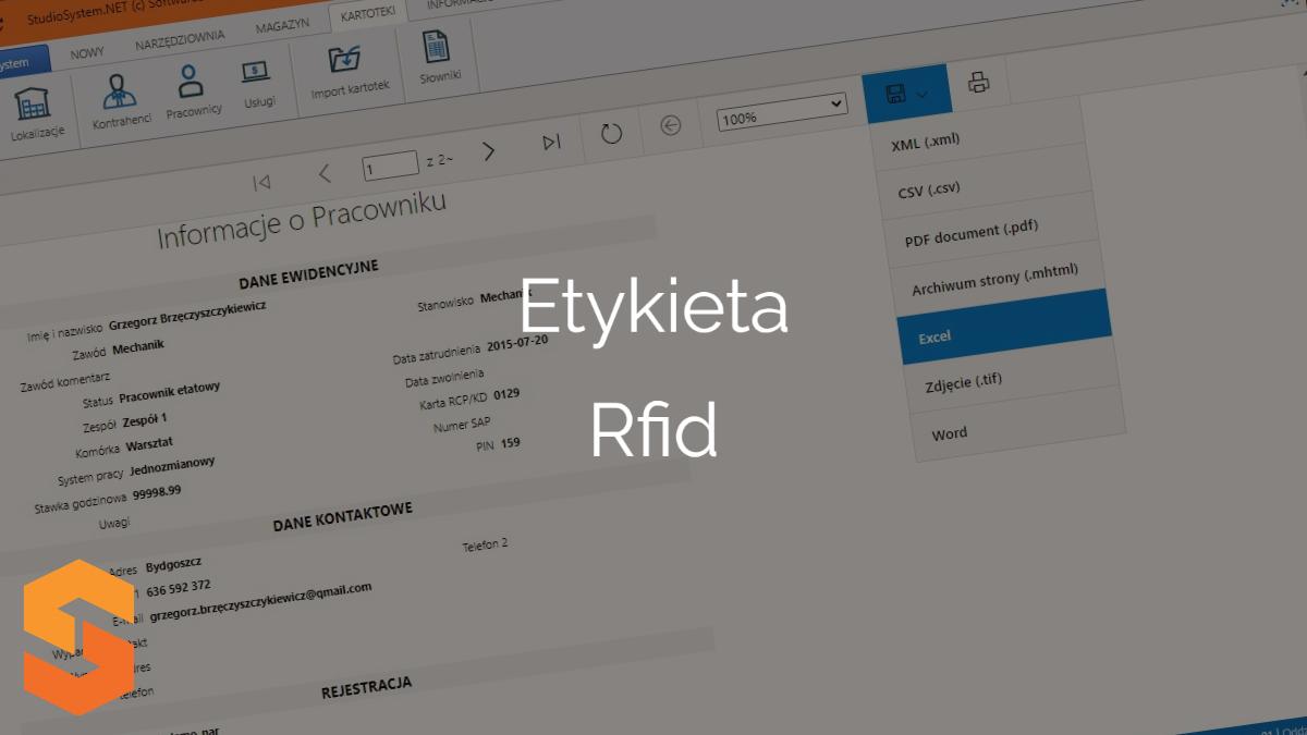 Za pomocą etykieta rfid uhf możesz uprawniać procesy w narzędziowni.