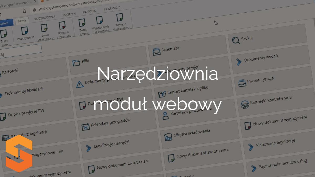 ewidencja narzędzi w firmie,narzędziownia moduł webowy
