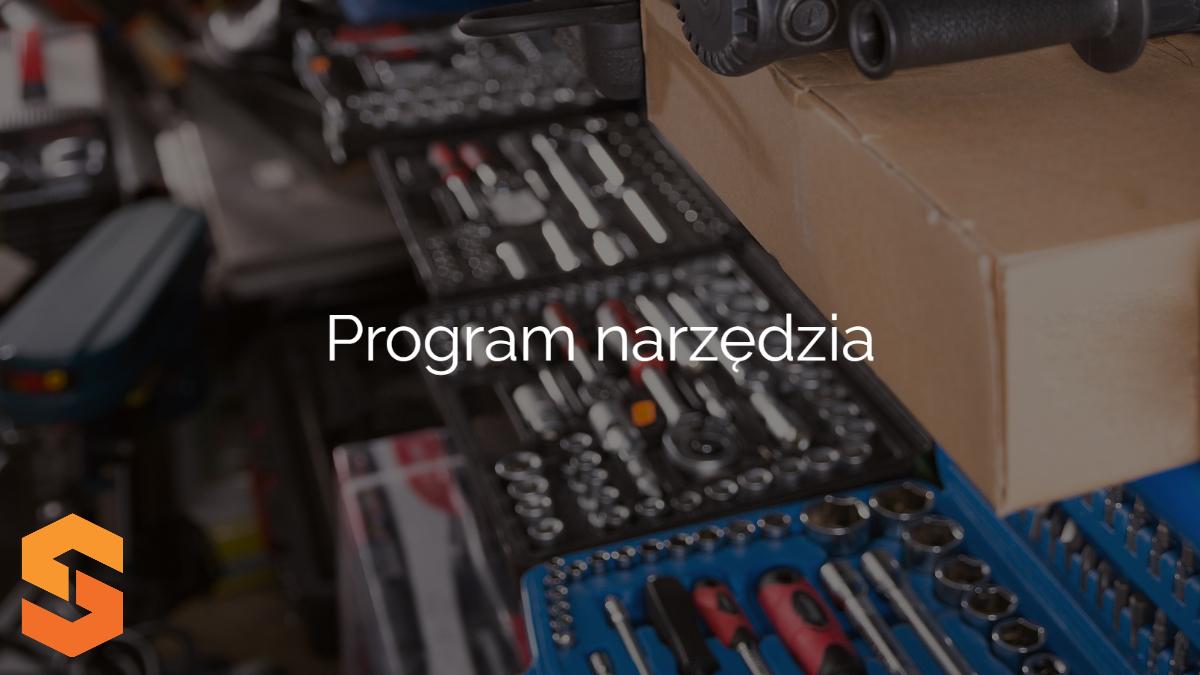 ewidencja narzędzi w firmie,program narzędzia